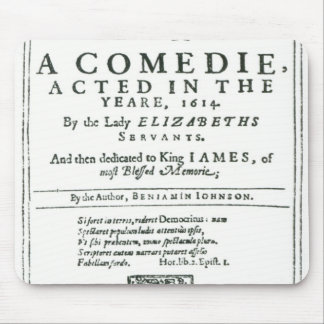 Frontispiece to Bartholomew Fair Mouse Pads