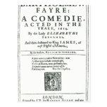 Frontispiece to 'Bartholomew Fair' Postcard