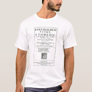 Frontispiece to 'Bartholomew Fair' T-Shirt