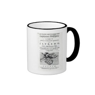 Frontispiece to Christopher Rawlinson's Ringer Mug