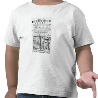 Frontispiece to cook book of Bartolomeo Scappi T Shirts