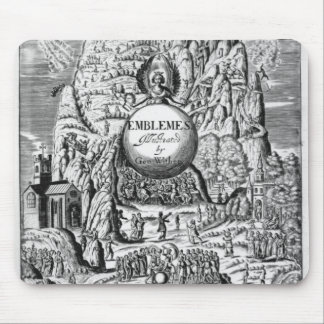 Frontispiece to George Wither's 'Emblems', 1635 Mouse Pad