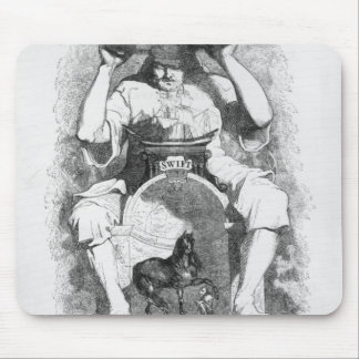 Frontispiece to 'Gulliver's Travels' by Mouse Pad