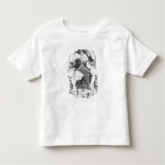 Frontispiece to 'Gulliver's Travels' by Toddler T-shirt