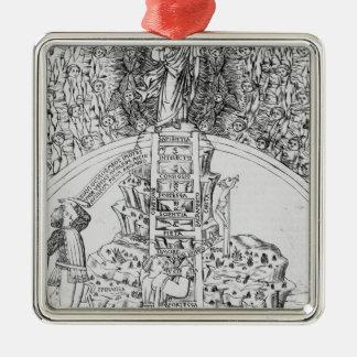 Frontispiece to 'Il Monte Sancto di Dio', 1477 Metal Ornament
