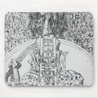 Frontispiece to 'Il Monte Sancto di Dio', 1477 Mouse Pad