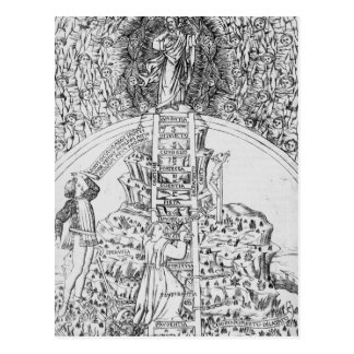 Frontispiece to 'Il Monte Sancto di Dio', 1477 Postcard