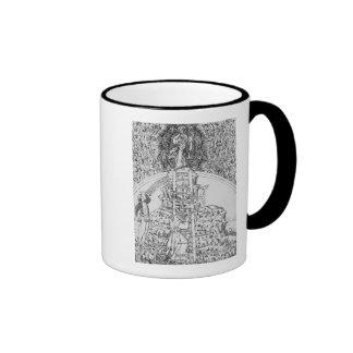 Frontispiece to 'Il Monte Sancto di Dio', 1477 Ringer Mug