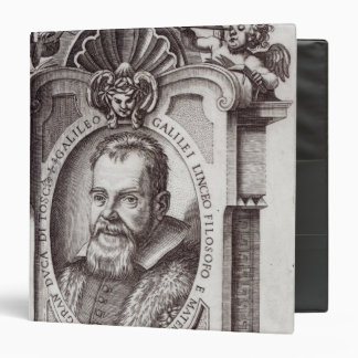 Frontispiece to 'Il Saggiatore' by Galileo 3 Ring Binder