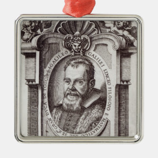 Frontispiece to 'Il Saggiatore' by Galileo Metal Ornament