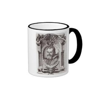 Frontispiece to 'Il Saggiatore' by Galileo Ringer Coffee Mug