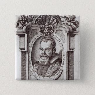 Frontispiece to 'Il Saggiatore' by Galileo Pinback Button