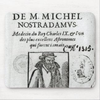 Frontispiece to 'Les Propheties de M. Michel Mouse Pad