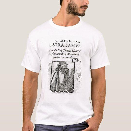 Frontispiece to 'Les Propheties de M. Michel T-Shirt