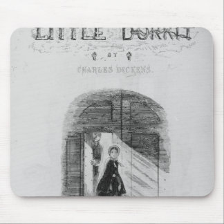 Frontispiece to 'Little Dorrit' by Charles Mouse Pad