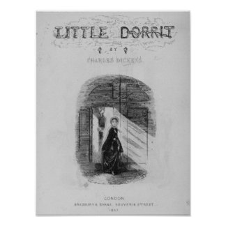 Frontispiece to 'Little Dorrit' by Charles Poster