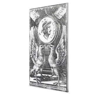 Frontispiece to 'Lucan's Pharsalia' Canvas Print