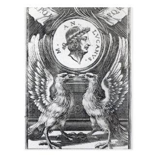 Frontispiece to 'Lucan's Pharsalia' Postcard
