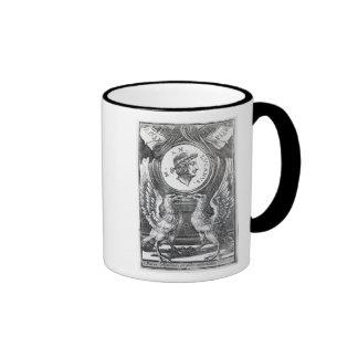 Frontispiece to 'Lucan's Pharsalia' Ringer Mug