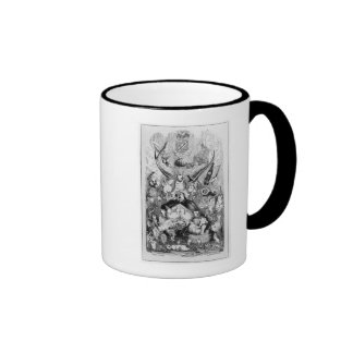Frontispiece to 'Memoirs of a Stomach' Ringer Mug