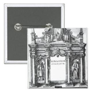 Frontispiece to 'Monasticon Anglicanum' Button