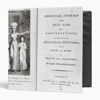 Frontispiece to 'Original Stories from Real 3 Ring Binder