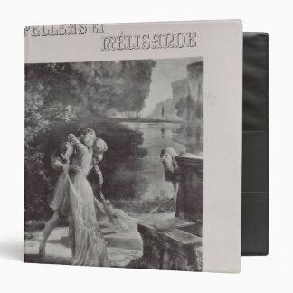 Frontispiece to Pelleas and Melisande by Binder
