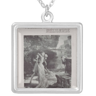 Frontispiece to Pelleas and Melisande by Square Pendant Necklace