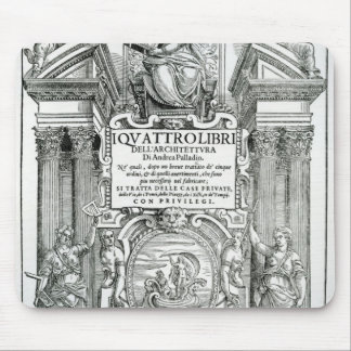 Frontispiece to 'Quattro libri dell'architettura' Mouse Pad
