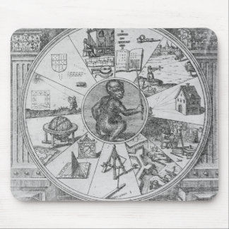 Frontispiece to Robert Fludd's Utriusque Mouse Pad