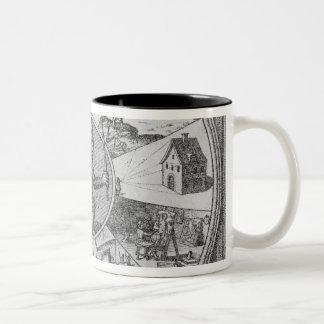 Frontispiece to Robert Fludd's Utriusque Two-Tone Coffee Mug