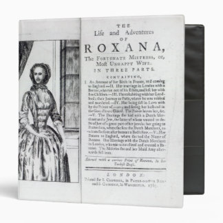Frontispiece to 'Roxana, The Fortunate 3 Ring Binder