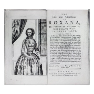 Frontispiece to 'Roxana, The Fortunate Poster