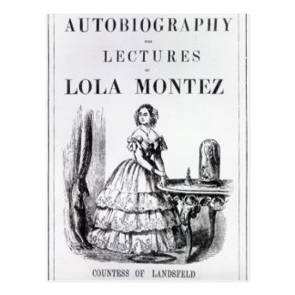 Frontispiece to the 'Autobiography Postcard