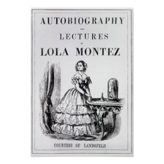 Frontispiece to the 'Autobiography Poster