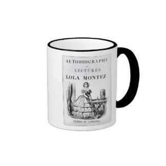 Frontispiece to the 'Autobiography Ringer Mug
