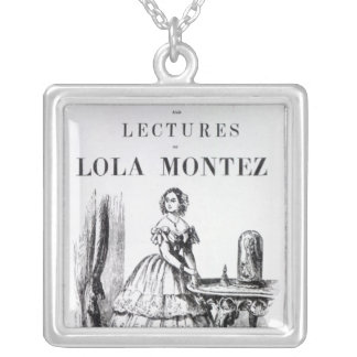 Frontispiece to the 'Autobiography Square Pendant Necklace
