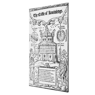 Frontispiece to 'The Castle of Knowledge' Gallery Wrap Canvas