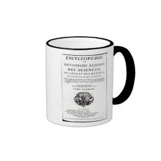 Frontispiece to 'The Encyclopedia Ringer Mug