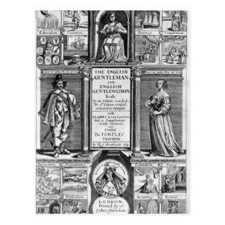 Frontispiece to 'The English Gentleman Postcard