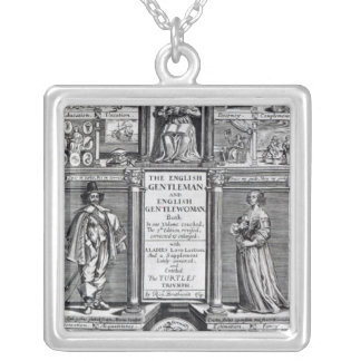 Frontispiece to 'The English Gentleman Square Pendant Necklace