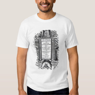 Frontispiece to 'The English Gentleman T Shirt