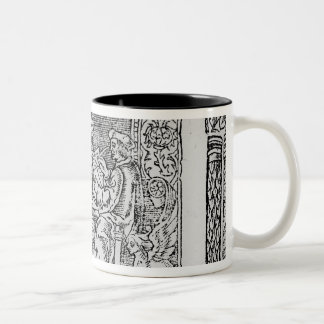 Frontispiece to the first book of Utopia Two-Tone Coffee Mug