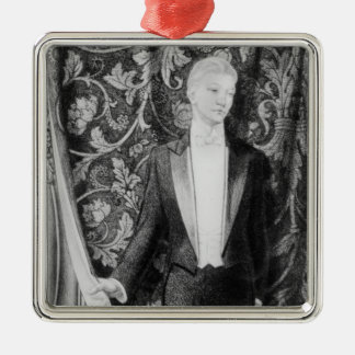 Frontispiece to 'The Picture of Dorian Gray' Metal Ornament