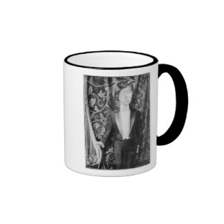 Frontispiece to 'The Picture of Dorian Gray' Ringer Mug