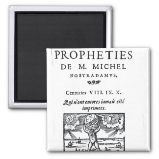 Frontispiece to 'The Prophecies Magnet