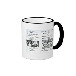 Frontispiece to 'The Prophecies Ringer Mug