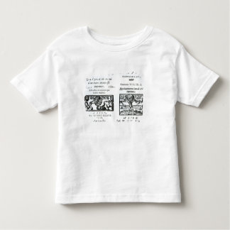 Frontispiece to 'The Prophecies Toddler T-shirt