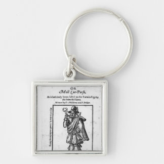 Frontispiece to 'The Roaring Girle' Keychain