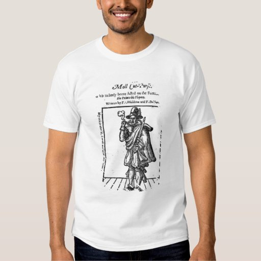 Frontispiece to 'The Roaring Girle' T-Shirt